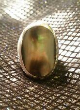 "Martín pescador Collar Paua Abalone shell colgante plata Fashion Jewellery 18/"" 45cm"