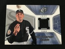 Josh Fogg Authentic Jersey Rc Chicago White Sox Sp 2001 Insert Baseball Card