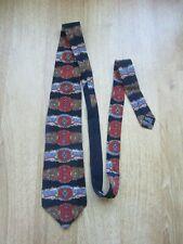 GIANFRANCO FERRE Roman Classic design 100% Pure Silk tie made in Italy