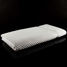 Liegetuch 80x200 cm Saunatücher Edel Diagonalstreifen Handtücher für Liegen