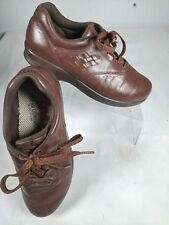 SAS Women's 6M Free Time Tripad Comfort Brown Leather Oxfords Sneakers Shoes