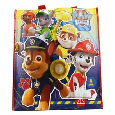 Lot of 5 pieces of Paw Patrol Nonwoven Large Tote Bag For Kids - New with Tags
