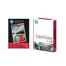 Original HP A4 90gsm Colour Laser Printer Copy Paper (White) 500 Sheets Per Ream