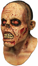 Morris Costumes Flesh Zombie Lurker Flesh Full Over The Head Latex Mask. TB26503