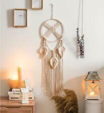 Wall Hanging Dream Catcher Macrame Woven Boho Feather Tassel Home Decor Ornament