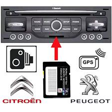 2020 Map Update for RNEG Peugeot WipNav / Citroen MyWay + Speed Cameras EUROPE
