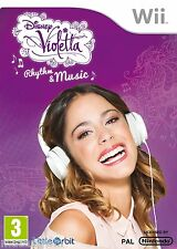 Disney Violetta: Rhythm and Music (Nintendo WII) NEW & Factory Sealed FREE P&P