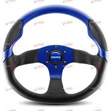 Momo Steering wheel leather Commando Blue 350mm 11102865812 RARE DISCONTINUED