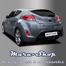 Chrome Fuel Gas Filler Door Cap Cover Trim for 11+ Hyundai Veloster