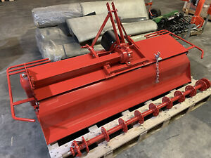 """74"""" Rotary Tiller with built-in manual side-shift"""