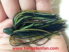 Skirt Keeper Tungsten Pitching Sinker Weight 1/2 Ounce Assort Color