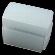 New White Flash Diffuser fits Olympus FL-36 FL36, Nikon SB600 Sunpak PZ-42X