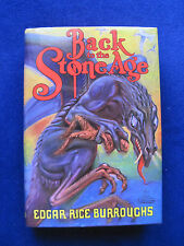 BACK TO THE STONE AGE - SIGNED by EDGAR RICE BURROUGHS to His Daughter Joan