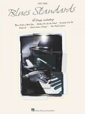 Blues Standards Sheet Music Easy Piano Songbook New 000311199