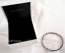 "NEW Authentic PANDORA Sterling Silver OXIDIZED Charms Bracelet 7.5"" 19cm w BOX!"