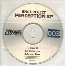 (428D) ENC Project, Perception EP - DJ CD
