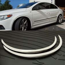 """29"""" White Diffuser Wide Fender Flares Lip For Toyota Wheel Wall Panel Bumper"""