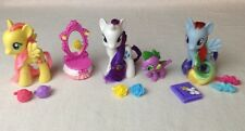 My Little Pony Midnight In Canterlot LOT Rainbow Dash Spike Rarity Fluttershy