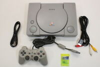 Sony PlayStation PS1 Console Controller AV/AC SPCH-9000 Japan Import PS127