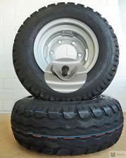 2 Kompletträder 10,0/75-15,3 AW Anhänger Rad Reifen auf Felge mit Ventilschutz