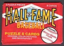 1983 DONRUSS HALL of FAME BASEBALL PACK--MICKEY MANTLE PUZZLE!!