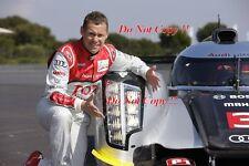 Tom Kristensen Audi 9 Times Le Mans Winner Portrait Photograph 5