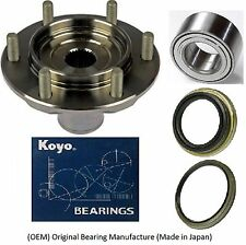 Front Wheel Hub & (OEM)KOYO Bearing & Seal Kit FOR 2000-06 Toyota Tundra 4x4 4WD