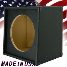 1x12 Guitar Speaker Extension Empty Cabinet Bronco Black Tolex G1X12SL BBTLX