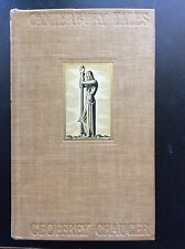 Canterbury Tales by Geoffrey Chaucer & Illustrated by Rockwell Kent 1934