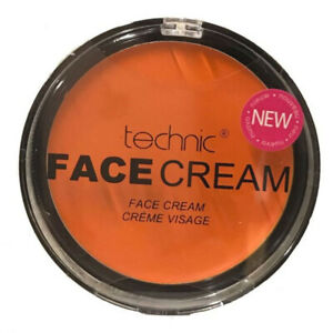 Technic Orange Makeup Cream Face  Powder