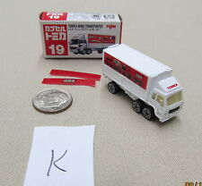 Tomica Capsule Pocket Cars #19 Tomica Wing Transporter MIB US Seller