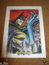 Batman Archives 2008 SketchaFex Sketch - Dio Neves - 1/1 1 of 1               ZN