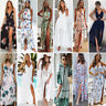 Lot Women Maxi Boho Floral Summer Beach Long Dress Skirt Evening Cocktail Party