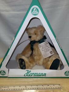 Hermann Teddy Bear Large Centennial Musical Bear Embroidered Washington Post