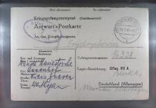 Camp Oflag VIIA Murnau 1941 POW Prisoner of War Kriegsgefangenenpost (K7a)