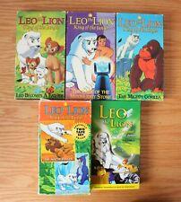 Leo the Lion Original King of the Jungle 6 VHS Lot Kimba Osamu Tezuka Palm Beach
