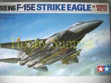 60312 Tamiya 1/32 USAF F-15E  STRIKE EAGLE  w/ Bunker Buster   Plastic Modle Kit