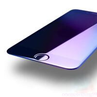 For iphone 6/7/8 Plus Full Cover Anti Blue Light Tempered Glass Protector Screen