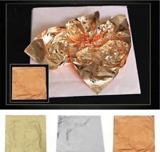 100x Copper Leaf/Gold Leaf Sheets Foil Paper Leaves Gilding Multi Foil Paper Art