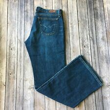 "AG Jeans Adriano Goldschmied Women 31 Angel Boot Cut Blue Denim 32"" Inseam"