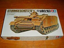 TAMIYA Model STURMGESCHUTZ IV Sdkfz163 Kit #35087