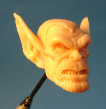 "ML072 Custom Cast sculpt Skrull head use with 6"" Marvel Legends Figures"