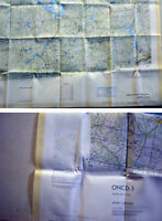 Fliegerkarte Silk Map von Riga (Lettland) und Gorkiy (Russland) 1:1.000.000