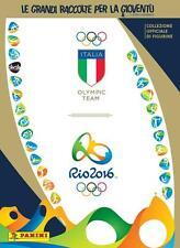 Album Panini Olimpiadi Italia Team RIO 2016 + SET COMPLETO