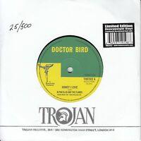 """ALTON ELLIS Honey I Love 2012 UK Trojan ltd heavy vinyl 7"""" numbered 25/500 MINT"""