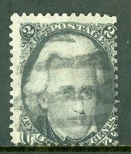 USA 1861 Jackson 2¢ Blackjack Scott # 73 VFU I280 ⭐⭐⭐⭐⭐⭐