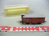 AJ140-0,5# Trix International H0/DC 3623 Güterwagen m. Bremserhaus DRG, NEUW+OVP