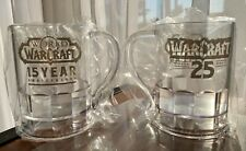 Set of 2 mugs for $33 Blizzcon 2019 World of Warcraft 15th Anniversary Mug-New