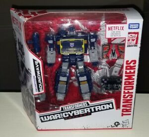 Transformers Netflix Soundwave Walmart Exclusive 3 Pack War for Cybertron Decals
