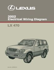 Service Repair Manuals For Lexus Lx470 Sale Ebay. 2002 Lexus Lx 470 Wiring Diagrams Schematics Layout Factory Oem. Wiring. Lx470 Fuse Diagram At Scoala.co